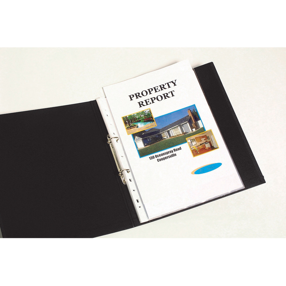 MARBIG SHEET PROTECTOR Economy A4 Low Glare Box of 300