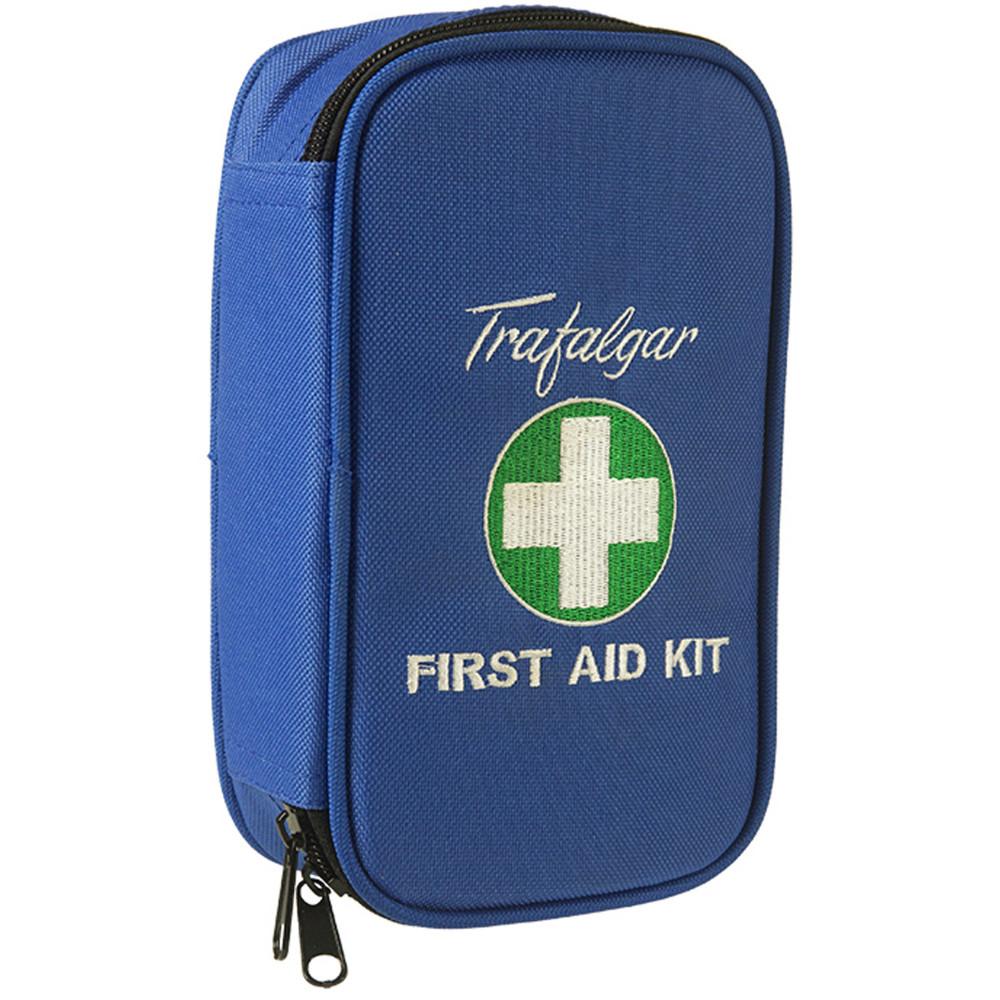 TRAFALGAR VEHICLE F/A KIT Low Risk Kit Soft Case Blue
