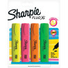 Sharpie Highlighter Chisel Tip Assorted Pack of 4