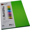 QUILL XL MULTIOFFICE 80GSM A4 Paper Lime 100 Sheets Ream