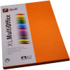 Quill XL Multioffice Paper A4 80gsm Orange Pack of 100
