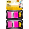 POST-IT FLAGS 680-BP2 25.4mm x 43.2mm Pink Twin Pack