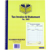 Spirax 500 Business Book Carbonless Tax Invoice & Statement Quarto