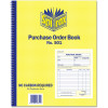 Spirax 501 Business Book Duplicate Quarto Purchase Order Carbonless Side Opening