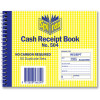 Spirax 504 Business Book Cash Receipt Quarto Carbonless Side Opening
