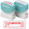 XSTAMPER STAMP CX-BN 1211 POSTED DATE RED