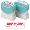 XStamper Stamp CX-BN 1680 Received/Date/By Red
