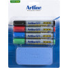 Artline 577 Whiteboard Marker Starter Kit Pack Of 4