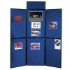 NOBO DISPLAY BOARD Portable 6 Panel