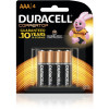 DURACELL COPPERTOP BATTERY AAA - Pack of 4