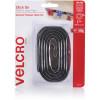 VELCRO BRAND HOOK & LOOP Tape Stick On 25Mm X 1M Black