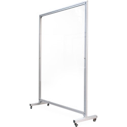 Visionchart Element Screen Guard Straight Mobile 1800Hx1200mmW Clear