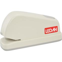 Ledah Electric Stapler 26/6 or 24/6 Staples 20 Sheet Capacity Cream