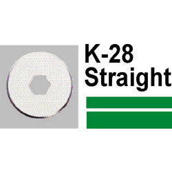 CARL K28 STRAIGHT BLADE DC200 210 230 2Pcs