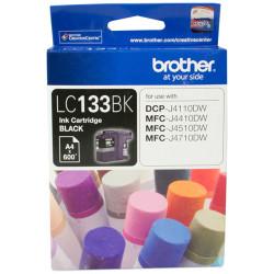 BROTHER INK CARTRIDGE LC-133BK Black
