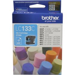 BROTHER INK CARTRIDGE LC-133C Cyan