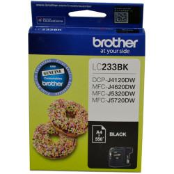 BROTHER INK CARTRIDGE LC-233BK Black