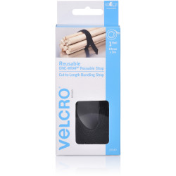 VELCRO BRAND REUSABLE Wrap 19mmx3m Black