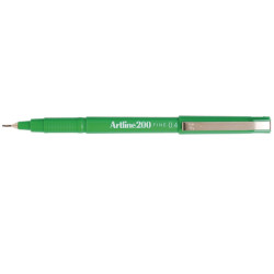 Artline 200 Fineliner Pen 0.4mm Green