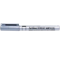 ARTLINE 990XF METALLIC MARKER Fine Bullet Silver