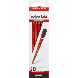 COLUMBIA COPPERPLATE PENCIL Hexagon 2B Pack of 20