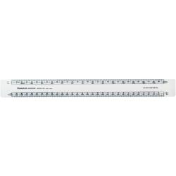 Staedtler Academy Scale Ruler Front1:1-1:100 Back1:20-1:500