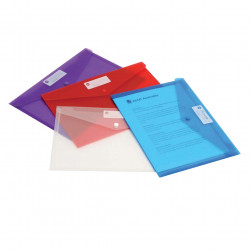 MARBIG DOCULOPE WALLET A4 Red