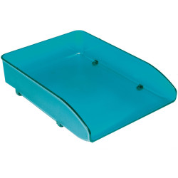 Metro Document Tray Foolscap Stackable Blueberry