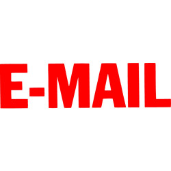 XStamper Stamp CX-BN 1651 Email Red