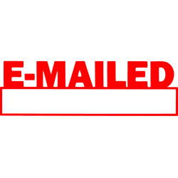 XStamper Stamp CX-BN 1650 Emailed/Date Red