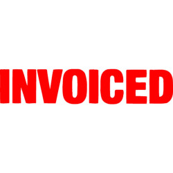 XSTAMPER STAMP CX-BN 1532 INVOICED RED