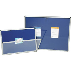 Nobo Internal Fabric Noticeboard A0 Blue