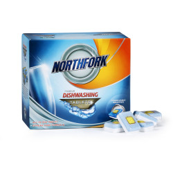 NORTHFORK DISHWASHING TABLETS Premium All in One Pack of 50