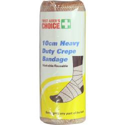 TRAFALGAR H/DUTY CREPE BANDAGE FAC Heavy Crepe Bandage W10cm