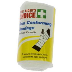 TRAFALGAR CONFORMING BANDAGE FAC Conforming Bandage W5cm