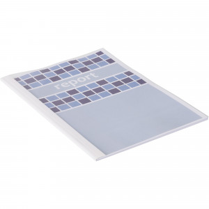 IBICO THERMAL BINDING COVERS A4 50-60Shts 6mm Spine Clear Pack of 100